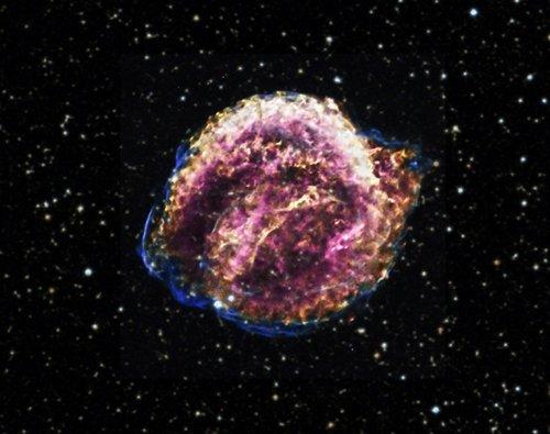 5-11 Сверхновая Кеплера была сверхмощной
