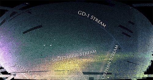 Streams В Млечном Пути обнаружен очередной звездный поток