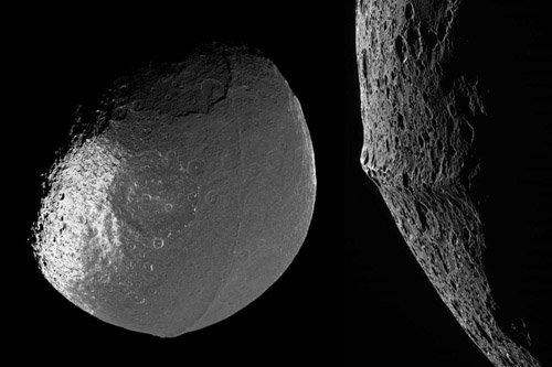 2-2 Возможно, луны Сатурна появились в результате столкновений