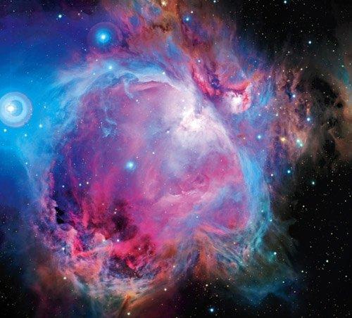 3-1 Как оказалось, туманность Ориона состоит из двух объектов