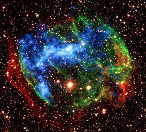 1-1 Возможно, учёные нашли самую молодую чёрную дыру нашей Галактики