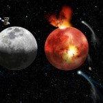 Весту и Луну атаковали одинаковые тела