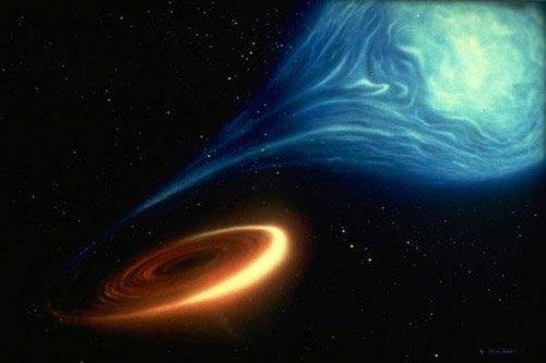 пара звезда - чёрная дыра