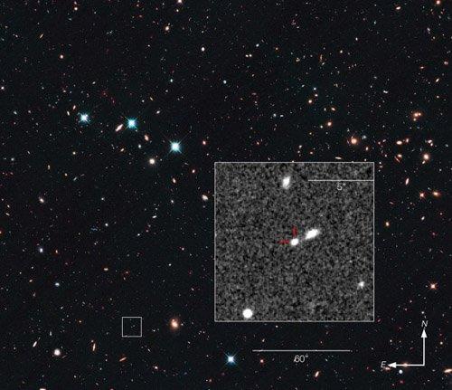 Сверхновая SN UDS10Wil