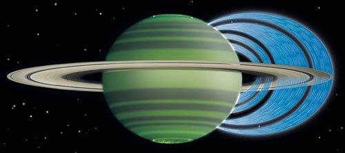 Сатурн получает воду со своих колец
