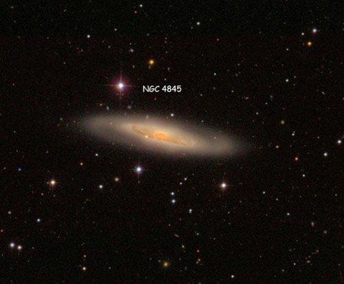 галактика NGC 4845