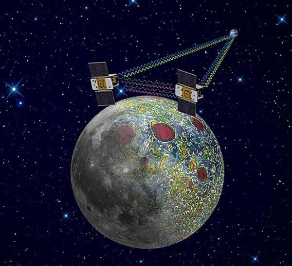 гравитация Луны неоднородна