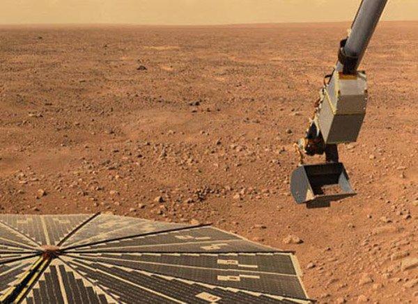 Rover обнаружил на Марсе органические соединения