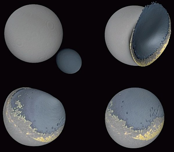 Возможно, у Земли было две Луны