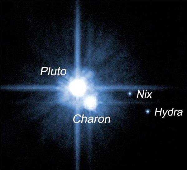 Спутники Плутона получили имена