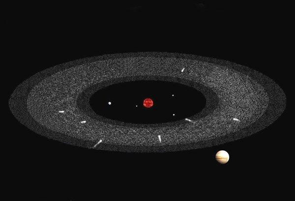 Астрономы обнаружили в поясе астероидов «кладбище» комет