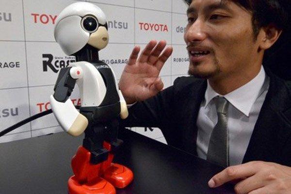 Япония запустила в космос маленького робота