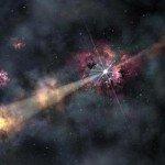Гамма-всплеск позволил рассмотреть раннюю «невидимую» галактику