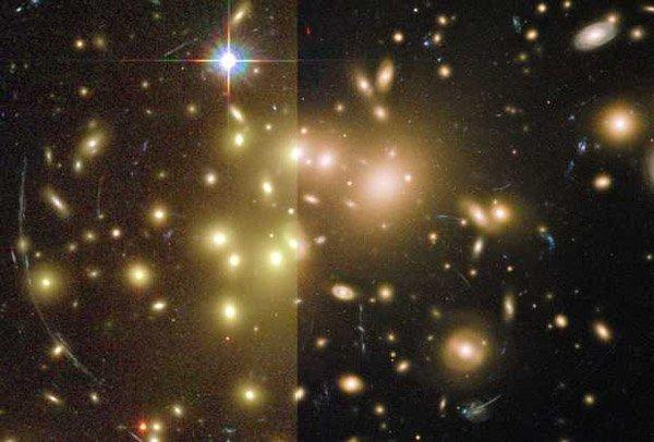 Телескоп «Хаббл» передал снимок гравитационной линзы