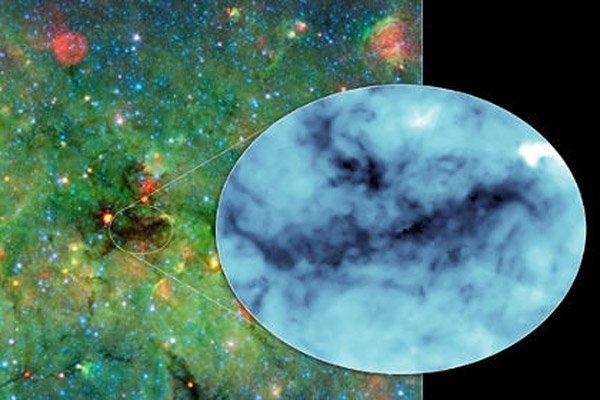 Ученые обнаружили очень плотное космическое облако