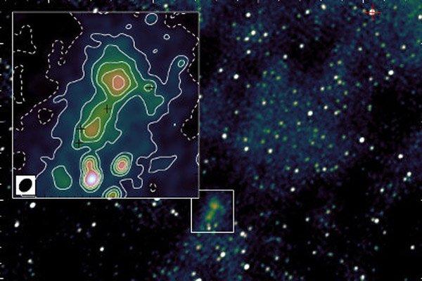 Рядом с Землей обнаружена галактика-загадка