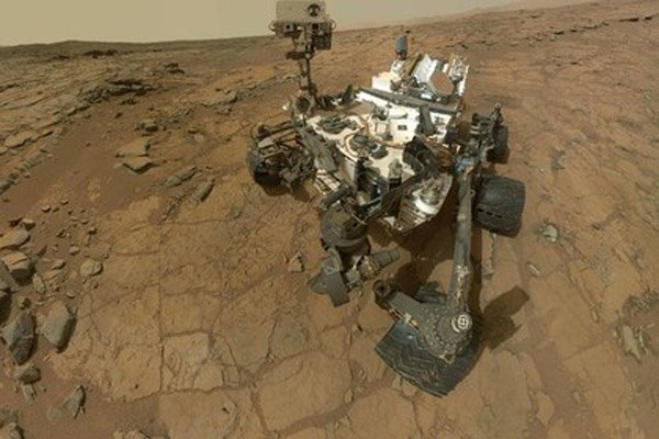 Марсоход прибыл в пункт назначения