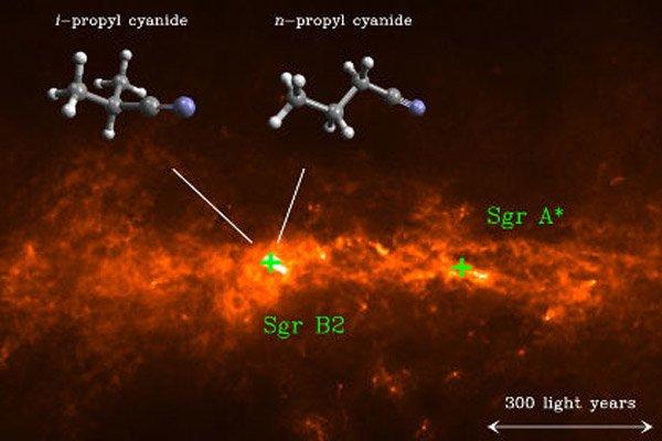 В космосе обнаружен изомер органической молекулы