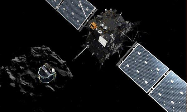 На комету Чурюмова-Герасименко сел зонд Philae