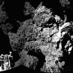 На комете Чурюмова-Герасименко обнаружены органические молекулы