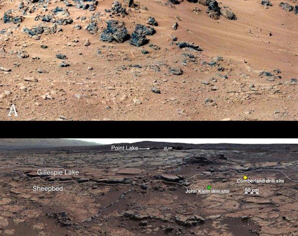 Curiosity обнаружил на Марсе следы древней экосистемы