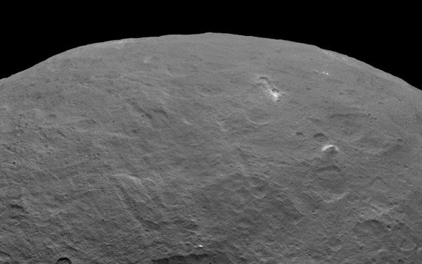 На Церере обнаружена гигантская пирамида