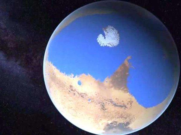 5 ТОП-7 фактов о воде на Марсе